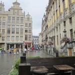 ДОЖДЬ НА ДВОРЦОВОЙ ПЛОЩАДИ В БРЮССЕЛЕ