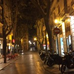 Валенсия Вечерняя улица