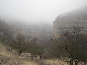 Тумаан в Черекском ущелье