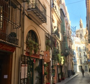 Улица Валенсия
