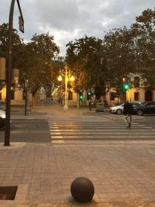Сквер в Севильи