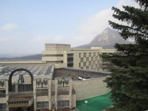 Вид с горы Железной в Железноводске